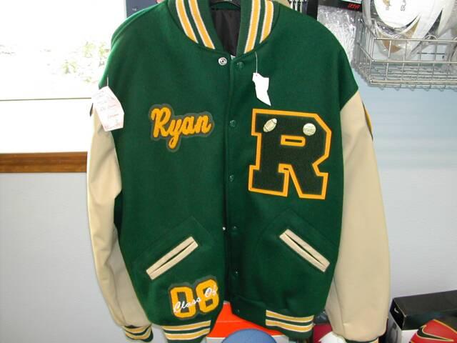 LETTERMAN JACKETS FOR TODDLERS